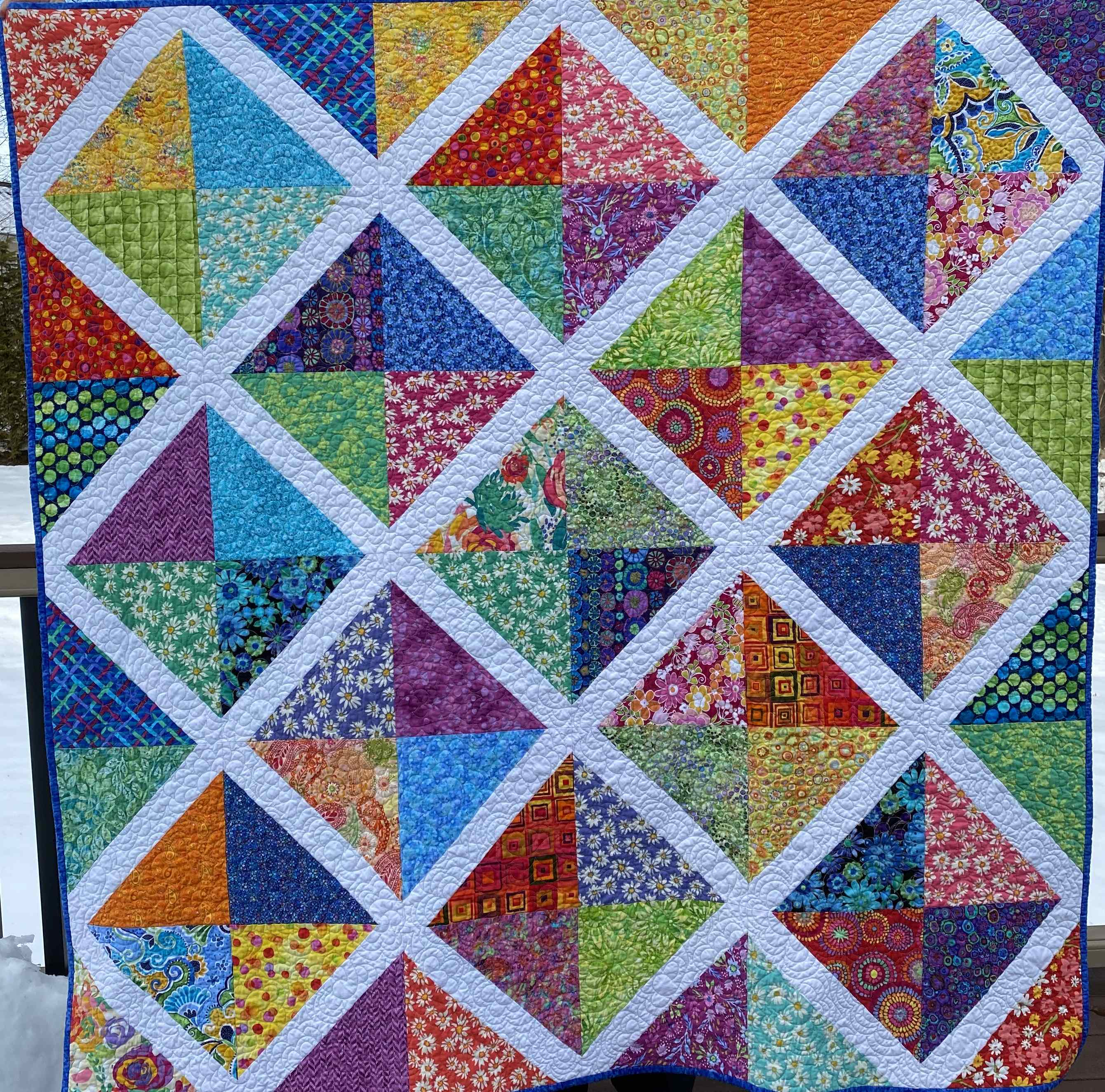 Quilted with TLC - Quilt Gallery - Lap-size Quilts